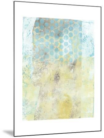Dots on Blue II-Naomi McCavitt-Mounted Art Print