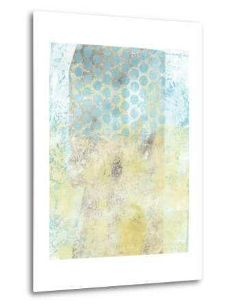 Dots on Blue II-Naomi McCavitt-Metal Print