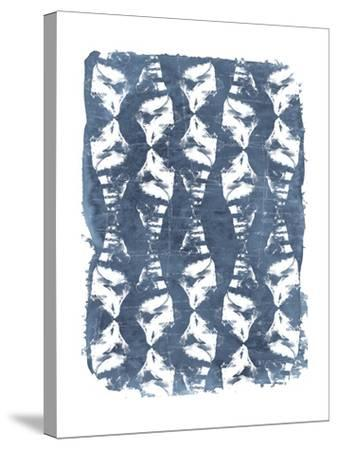 Batik Shell Patterns IV-June Vess-Stretched Canvas Print