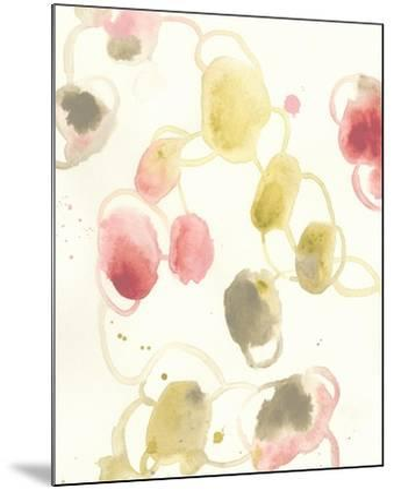 Elliptical Motion I-June Vess-Mounted Art Print
