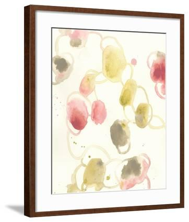 Elliptical Motion I-June Vess-Framed Art Print