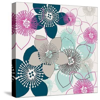 Boho Floral Collection II-Nicole Ketchum-Stretched Canvas Print
