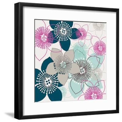 Boho Floral Collection II-Nicole Ketchum-Framed Art Print