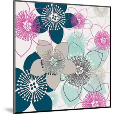 Boho Floral Collection II-Nicole Ketchum-Mounted Art Print