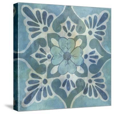 Patinaed Tile VI-Naomi McCavitt-Stretched Canvas Print