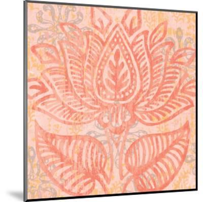 Block Print Paisley II-Leslie Mark-Mounted Art Print