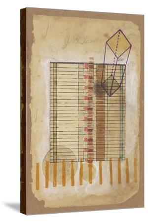 Grid and Parallelogram-Nikki Galapon-Stretched Canvas Print