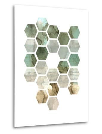 Hexocollage II-Pam Ilosky-Metal Print
