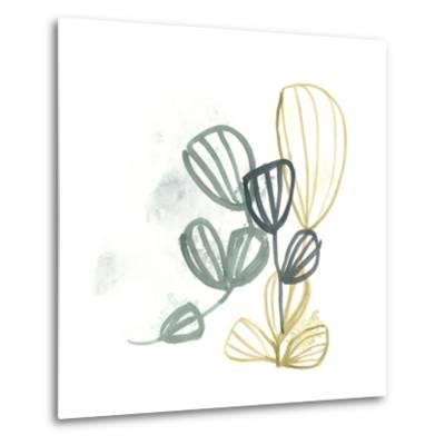 Abstract Sea Fan III-June Vess-Metal Print