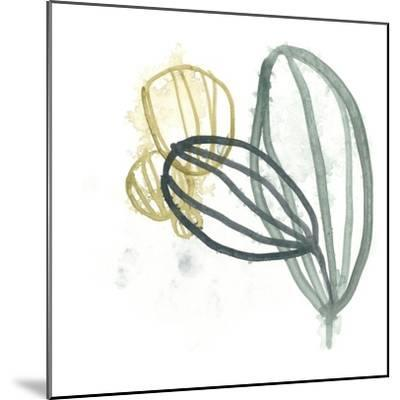 Abstract Sea Fan I-June Vess-Mounted Art Print