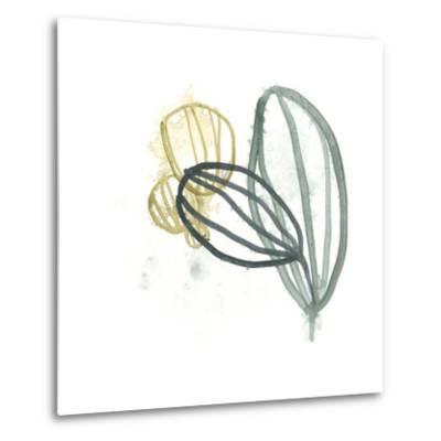 Abstract Sea Fan I-June Vess-Metal Print