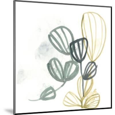 Abstract Sea Fan III-June Vess-Mounted Art Print