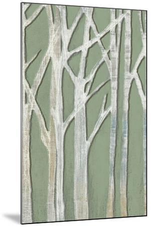 Birchline Triptych II-Jennifer Goldberger-Mounted Art Print