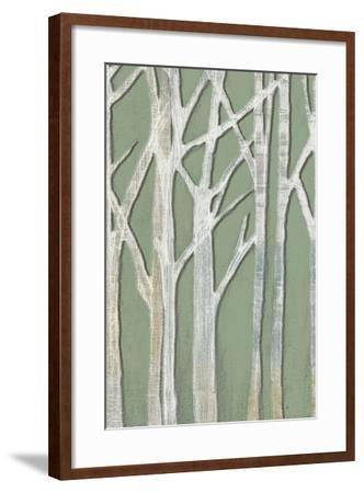 Birchline Triptych II-Jennifer Goldberger-Framed Art Print