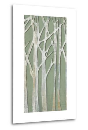 Birchline Triptych II-Jennifer Goldberger-Metal Print
