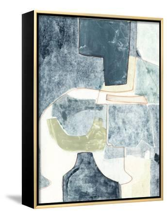 Blue Note VI-Rob Delamater-Framed Stretched Canvas Print