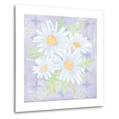 Daisy Patch Serenity I-Leslie Mark-Metal Print