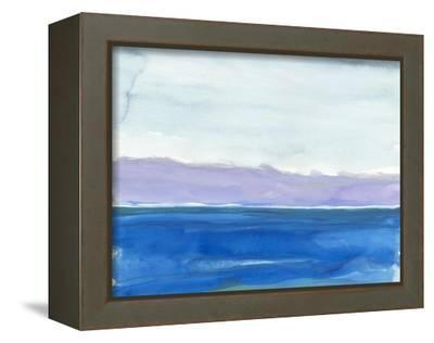 Cobalt Sea-Rob Delamater-Framed Stretched Canvas Print