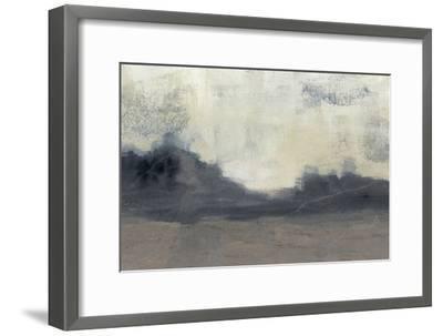 Mountain Silhouette II-Jennifer Goldberger-Framed Art Print