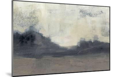 Mountain Silhouette II-Jennifer Goldberger-Mounted Art Print