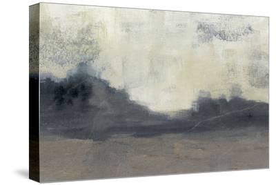 Mountain Silhouette II-Jennifer Goldberger-Stretched Canvas Print