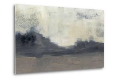 Mountain Silhouette II-Jennifer Goldberger-Metal Print