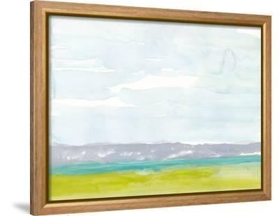 Bluff Beach-Rob Delamater-Framed Stretched Canvas Print