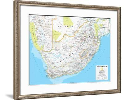 2014 South Africa - National Geographic Atlas of the World, 10th Edition-National Geographic Maps-Framed Poster