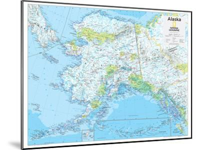 2014 Alaska - National Geographic Atlas of the World, 10th Edition-National Geographic Maps-Mounted Poster