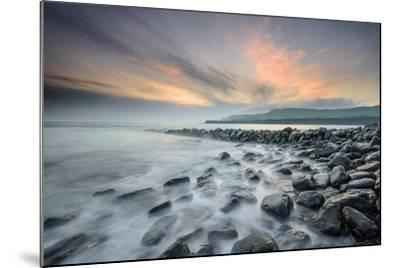 A View of Clavell's Pier Near Kimmeridge-Chris Button-Mounted Photographic Print