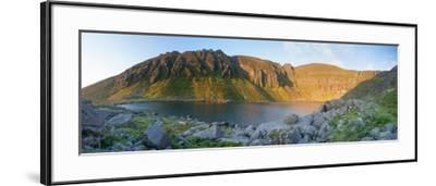 Dawn Light Illuminates Coumshingaun, Comeragh Mountains, County Waterford, Ireland-Gareth McCormack-Framed Photographic Print