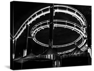 Amusement Park after Dark-Jason Moskowitz-Stretched Canvas Print