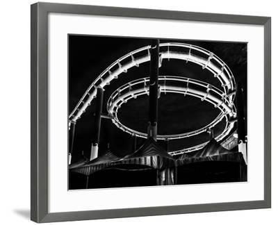 Amusement Park after Dark-Jason Moskowitz-Framed Photographic Print