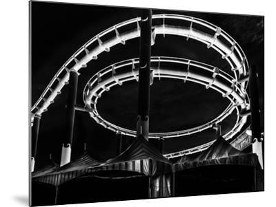 Amusement Park after Dark-Jason Moskowitz-Mounted Photographic Print