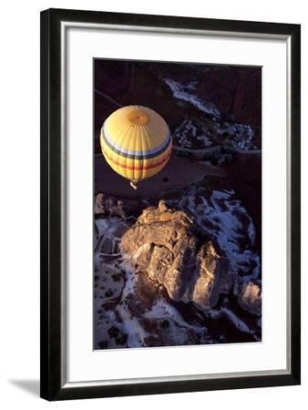 Hot Air Balloon in Turkey-Gonçalo Silva-Framed Photographic Print