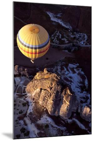 Hot Air Balloon in Turkey-Gonçalo Silva-Mounted Photographic Print