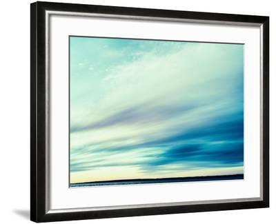 Square Vintage Ocean Landscape Composition-Nickolay Loginov-Framed Photographic Print
