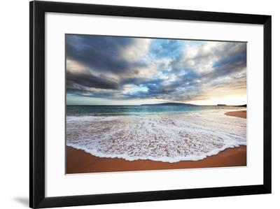 Sea on Sunset-Kamchatka-Framed Photographic Print