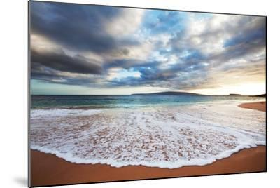 Sea on Sunset-Kamchatka-Mounted Photographic Print