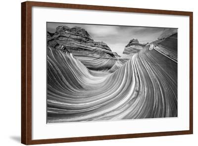 The Wave, Coyote Buttes, Paria-Vermilion Cliffs Wilderness, Arizona Usa-Russ Bishop-Framed Photographic Print