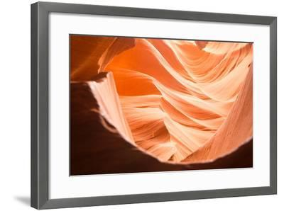 Lower Antelope Canyon in Page, Arizona-Zeng Cheng-Framed Photographic Print