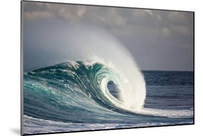 Wave Breaking in Ocean-Jefffarsai-Mounted Photographic Print