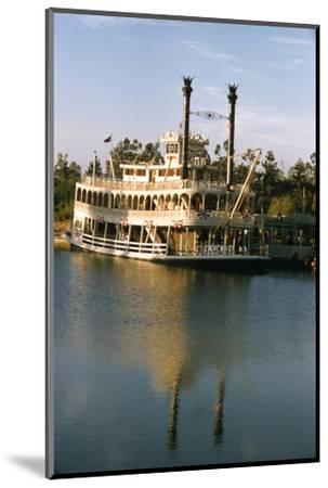July 17 1955: Disneyland's Mark Twain River Boat, Anaheim, California-Loomis Dean-Mounted Photographic Print