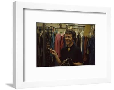 Designer's Aide Fritzi De Majo, of Sacony, New York, New York, 1960-Walter Sanders-Framed Photographic Print