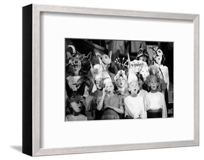 Children Chorus, Aldeburgh Festival, Suffolk, England, June 1959-Mark Kauffman-Framed Photographic Print