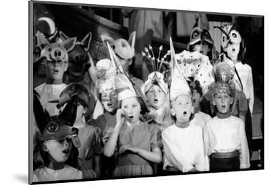 Children Chorus, Aldeburgh Festival, Suffolk, England, June 1959-Mark Kauffman-Mounted Photographic Print