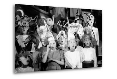 Children Chorus, Aldeburgh Festival, Suffolk, England, June 1959-Mark Kauffman-Metal Print