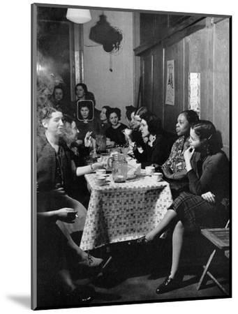 Garment Worker Yetta (Circled), Union Ilgwu, New York, NY, 1938-Hansel Mieth-Mounted Photographic Print