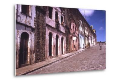 Slums of Salvador, State of Bahia, Brazil-Alfred Eisenstaedt-Metal Print