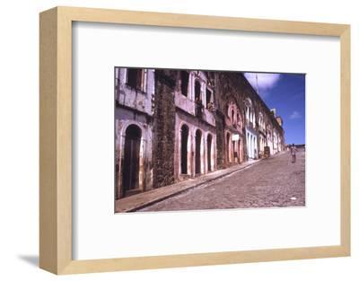 Slums of Salvador, State of Bahia, Brazil-Alfred Eisenstaedt-Framed Photographic Print